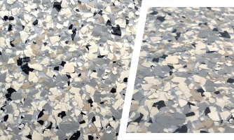 Granite color epoxy flooring coating