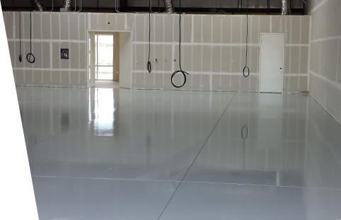 Bakersfield Epoxy Flooring on a commercial warehouse floor